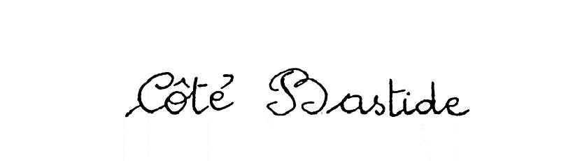 Cote Bastide Schrift